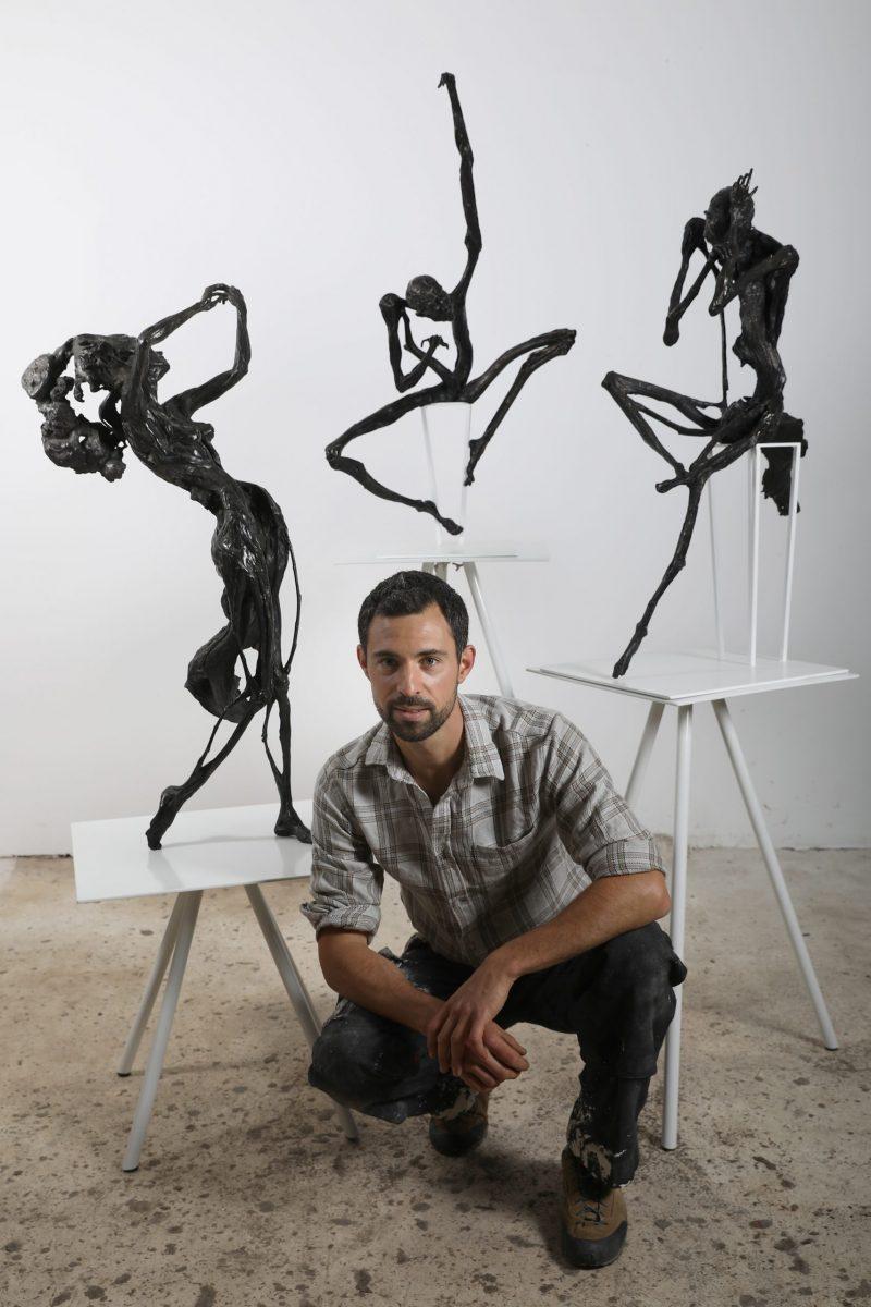 L'artiste Romain Tiercin - sculpteur sur bronze